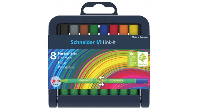 Schneider S-192098 Viltstift Link-It 1,0mm Assorti 8 Stuks