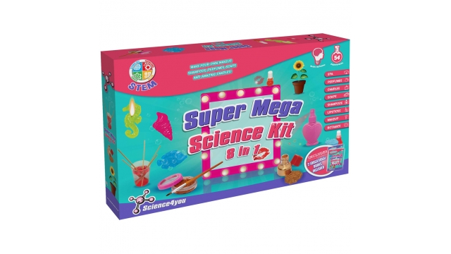 Science4you Super Mega 8in1 Science Kit Meiden