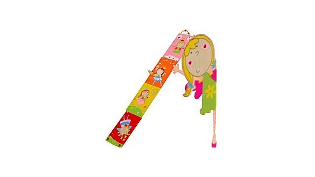Simply for Kids S22111F Houten Prinsessen Groeimeter