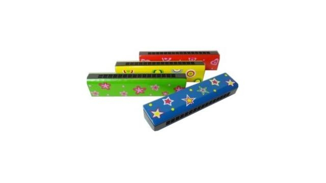 Simply for Kids 21651 Houten Mondharmonica Assorti