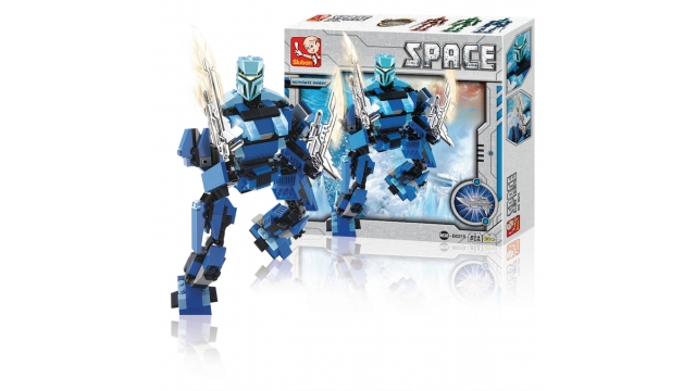 Sluban M38-B0215 Space Ultimate Robot Poseidon