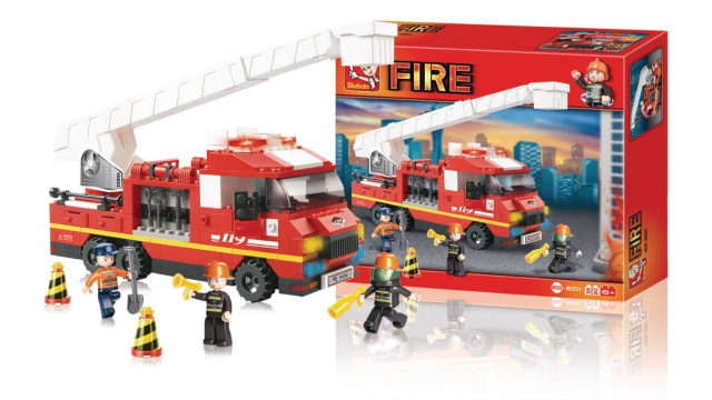 Sluban M38-B0221 Fire Ladderwagen