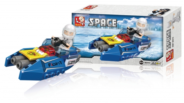 Sluban M38-B0315 Space Space Jet