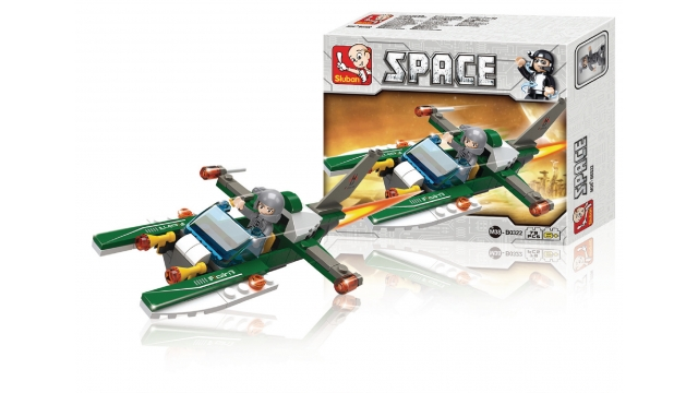 Sluban M38-B0322 Space Ruimteschip