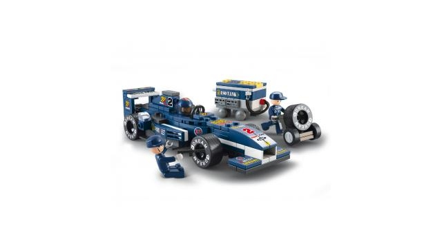 Sluban M38-B0351 Racing Car 196-delig