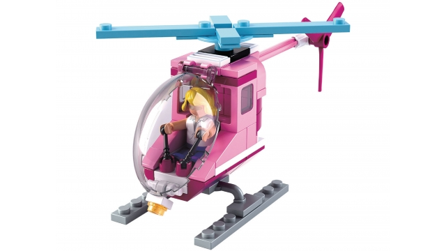Sluban Girls Dream Serie M38-B0600D Beach Helikopter 78-delig