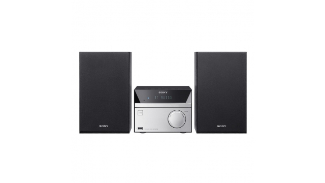 Sony CMTSBT20 Micro Stereo Systeem Zwart/Zilver