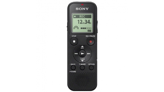 Sony ICDPX370 Digital Voice Recorder Zwart
