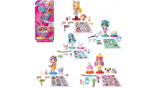 Party Pop Teenies Double Surprise Popper Assorti