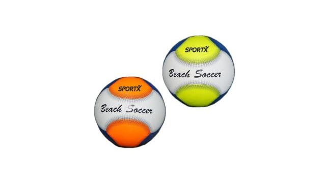 SportX Mini Soccer Beach Ball Assorti