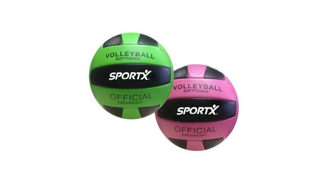 SportX Volleybal 260-280gr Assorti