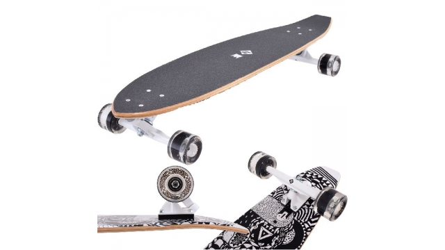 Street Surfing Kicktail Rumble Skateboard