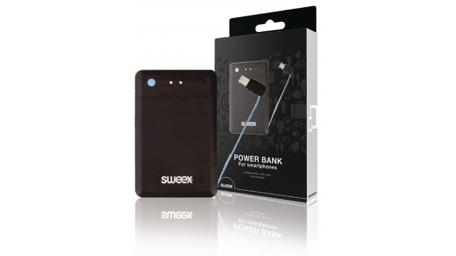 Sweex SW2500PB001U Portable Power Bank 2500 Mah Micro-usb Zwart