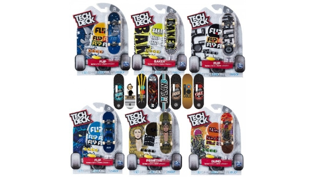 Tech Deck Single Board Assorti