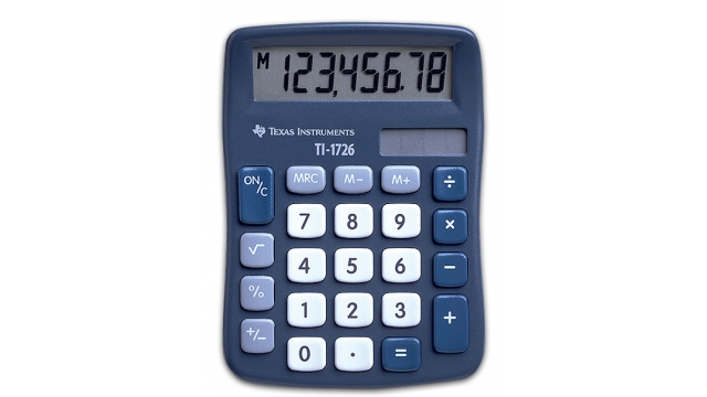 Texas Instruments TI-1726 Calculator