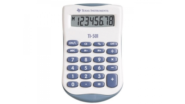 Texas Instruments TI-501 Rekenmachine