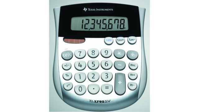 Texas Instruments TI-1795SV Calculator TI-1795 SV