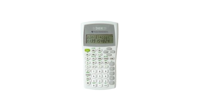 Texas Instruments TI-30XIIB Calculator TI-30 X IIB
