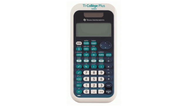 Texas Instruments TI-COLLEGE Calculator College (België) 34 MultiView