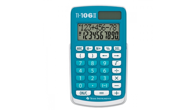 Texas Instruments TI-106II Calculator 106 II
