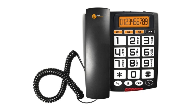 Topcom TS-6651 Sologic A801 Big Button Telefoon