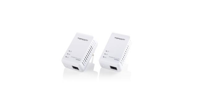 Topcom NS6700 Ethernet Kit  Powerlan 7420 Mini 2,5 W