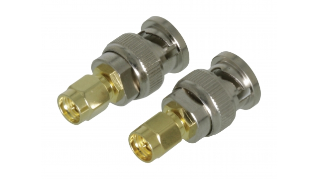 Valueline VLSP02960A Sma Adapter Sma Male - Bnc Male Verguld