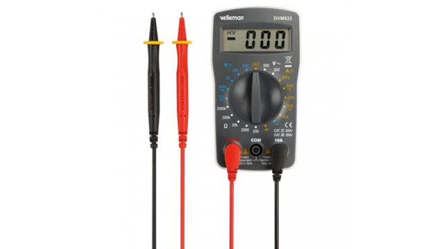 Velleman Digitale Multimeter 3,5lcd Compact