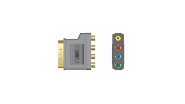 Vivanco SISR14 Video Adapter 4x Cinch-Scart